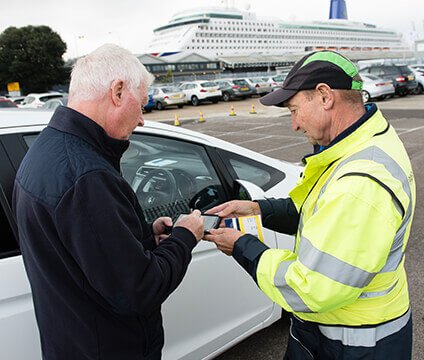 Parking4Cruises - How it works - 5. Pick up your car
